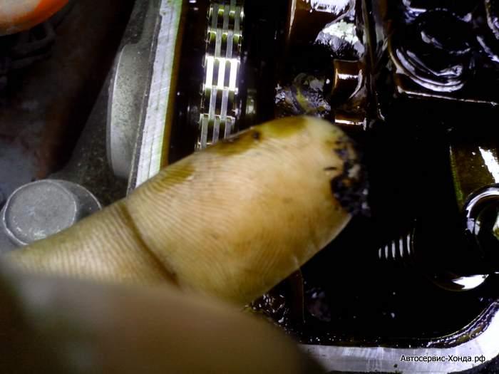 регулировка клапанов на Хонда Цивик 5д (9)