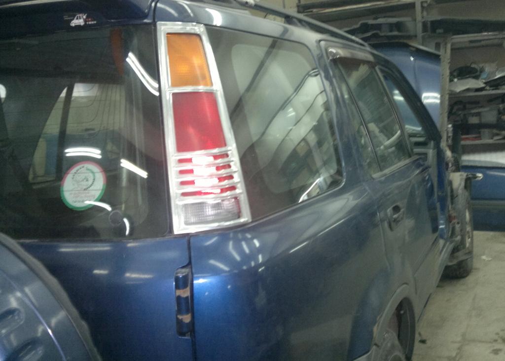 Кузовной ремонт Хонда
