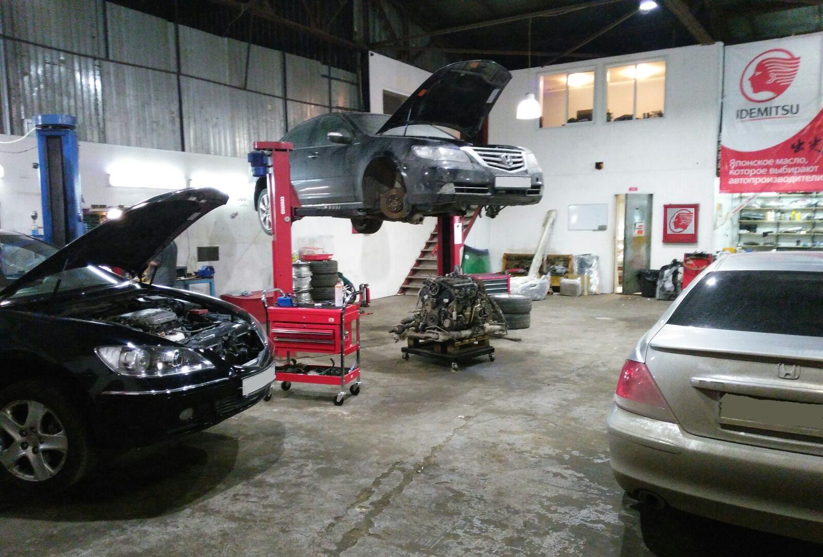 Хонда Легенд ремонт