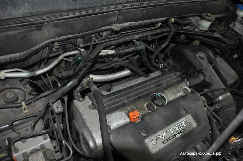 Обслуживание двигателя Хонда в сервисе Хонда