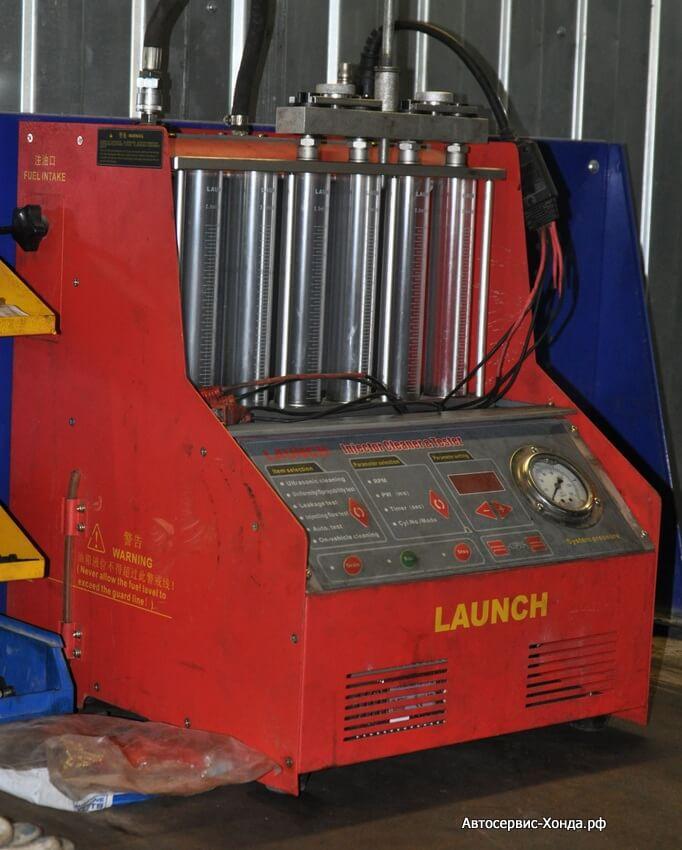 Промывка топливных форсунок в сервисе Хонда ЮАО