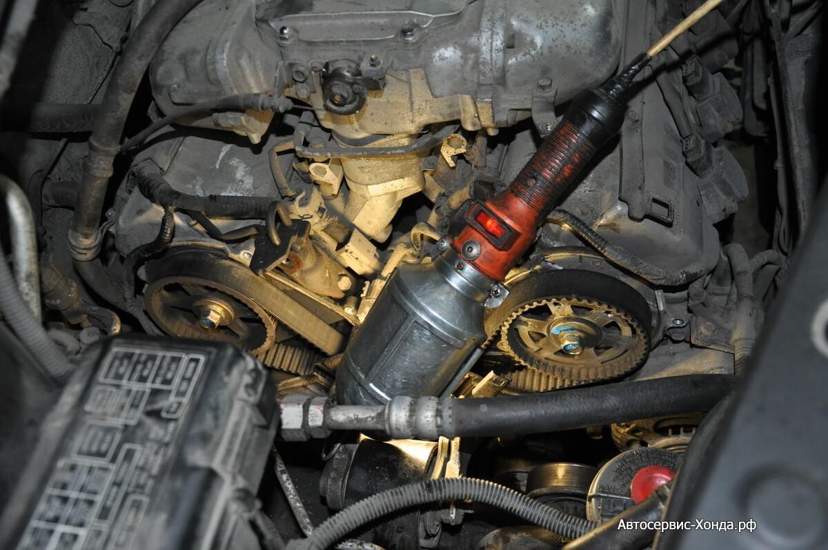 Обслуживание двигателя Acura MDX