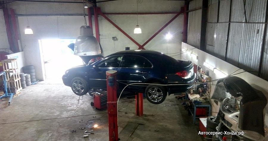 Обслуживание Хонда Legend KB1