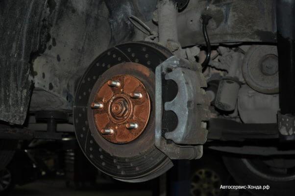 Обслуживание тормозной системы Хонда Митино