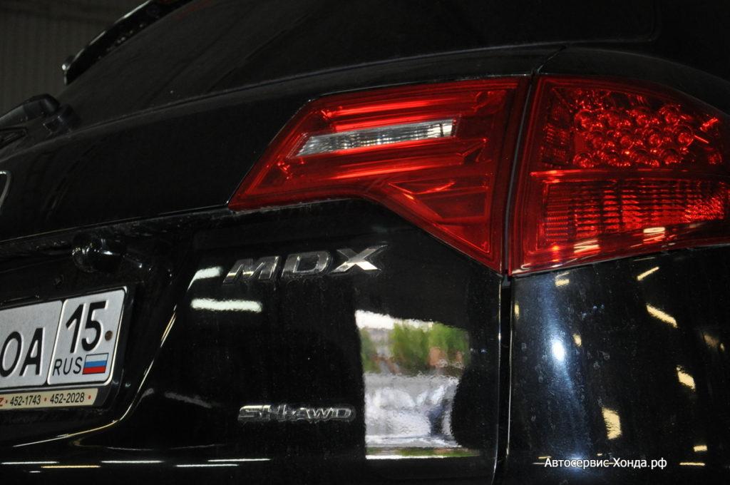 Сервис Acura MDX