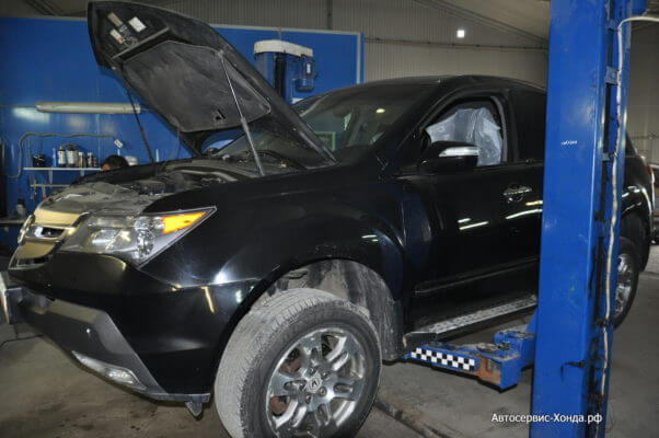 Замена амортизаторов Acura MDX
