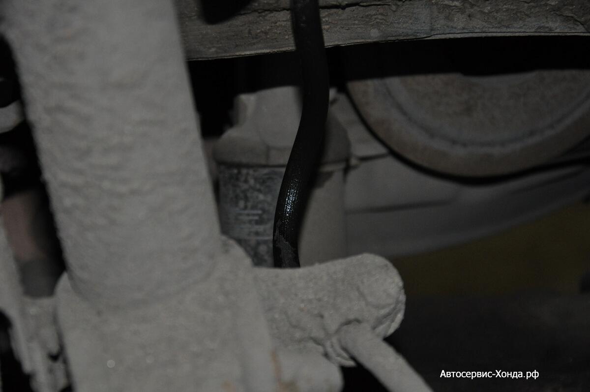 Замена тормозного шланга Акура сервис хонда юао