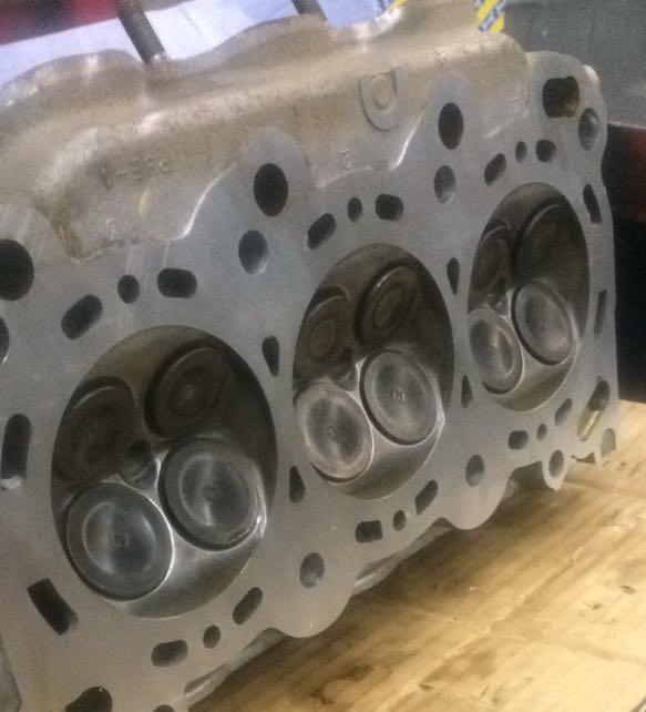 Ремонт двигателя после обрыва ГРМ Хонда