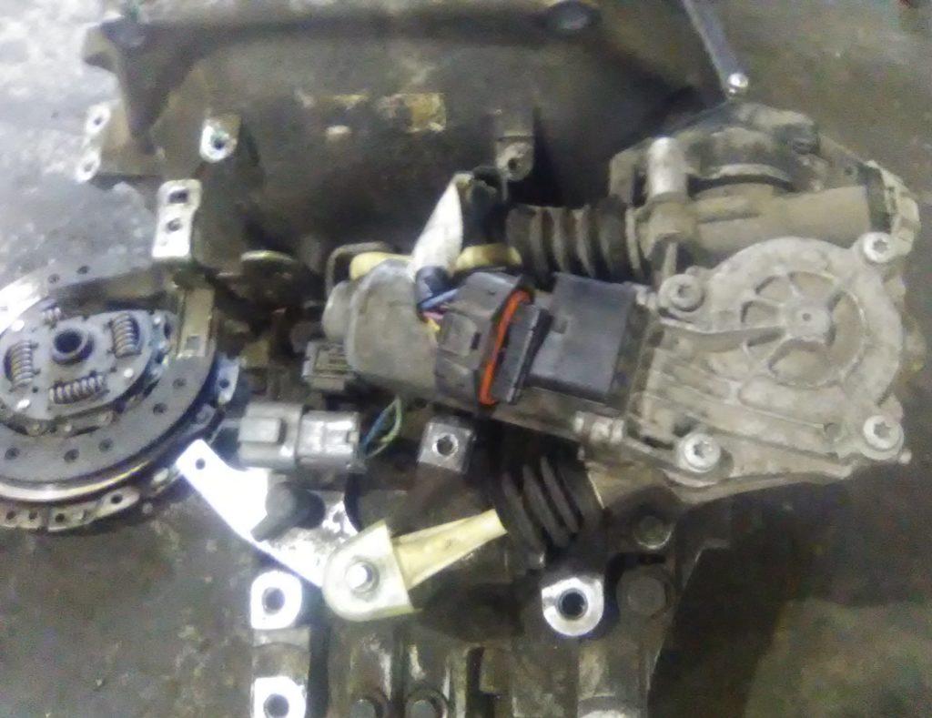 Замена сцепления на роботе хонда