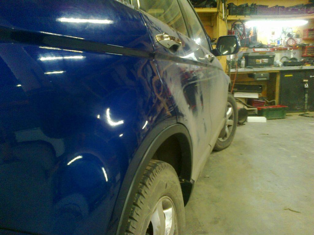 Удаление вмятин без покраски Хонда ЦРВ