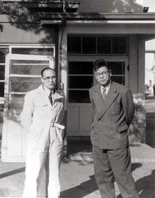 Соичиро Хонда и Такео Фуджисава