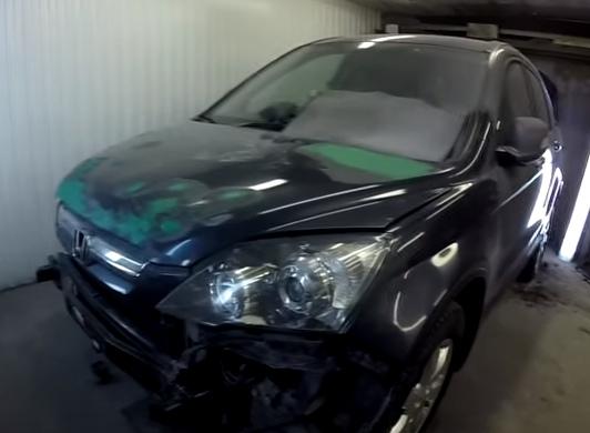 Кузовной ремонт Хонда СРВ