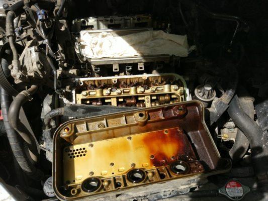 Регулировка клапанов Хонда Legend