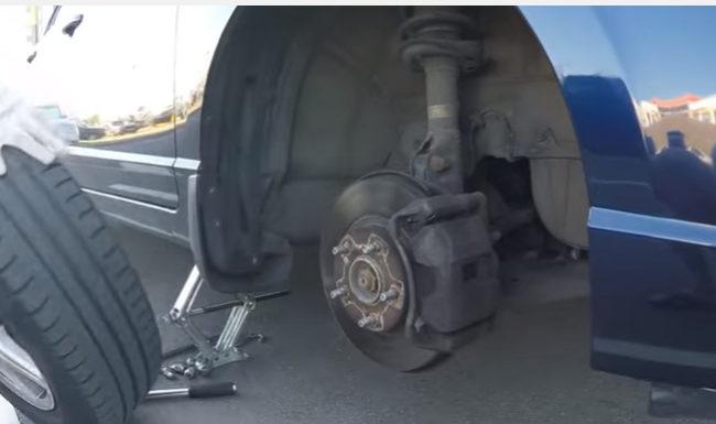 Замена тормозных дисков Хонда