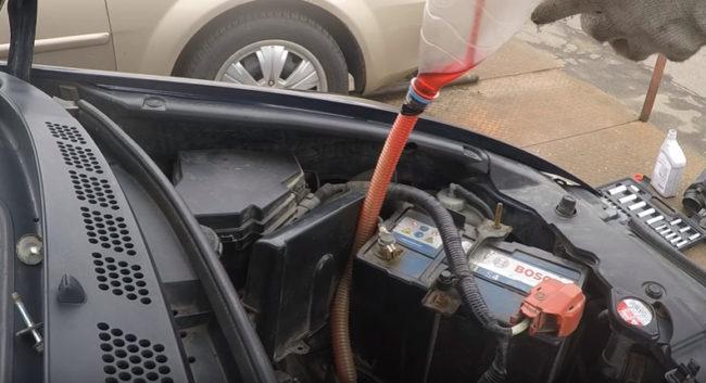 Замена масла в АКПП Хонда Цивик