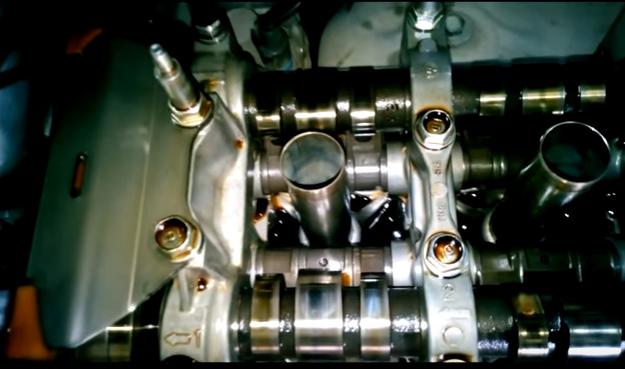 Регулировка клапанов Аккорд K24