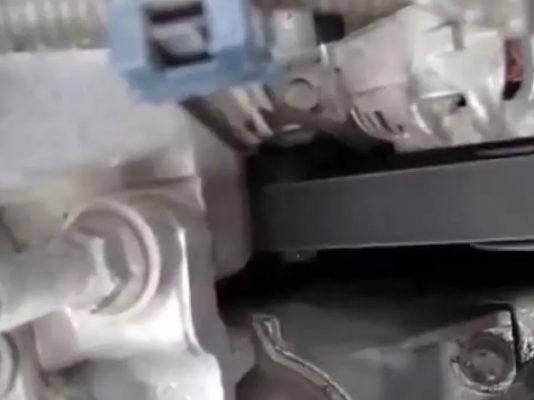 Замена ремня генератора Хонда