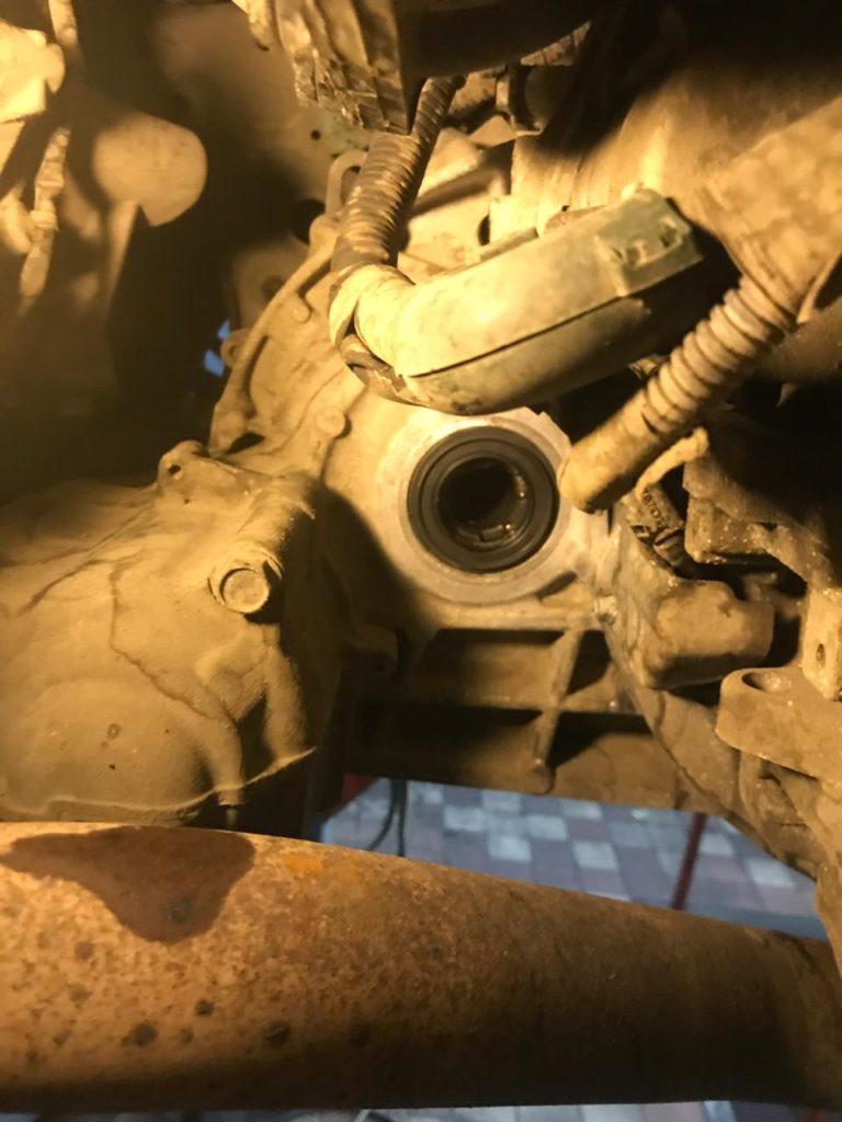 Замена сальника привода хонда срв 4