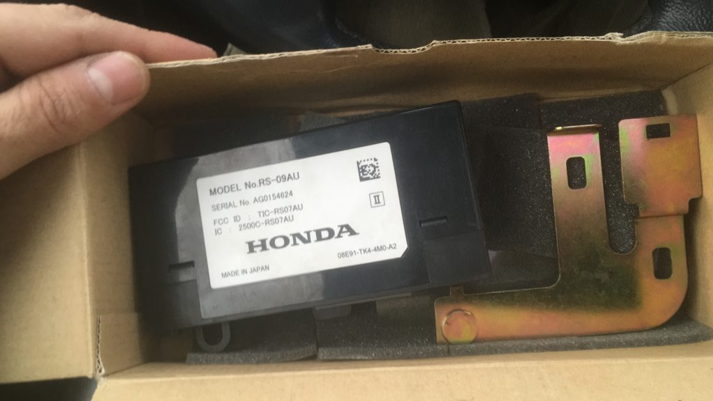 RS-08AU для Honda Crosstur