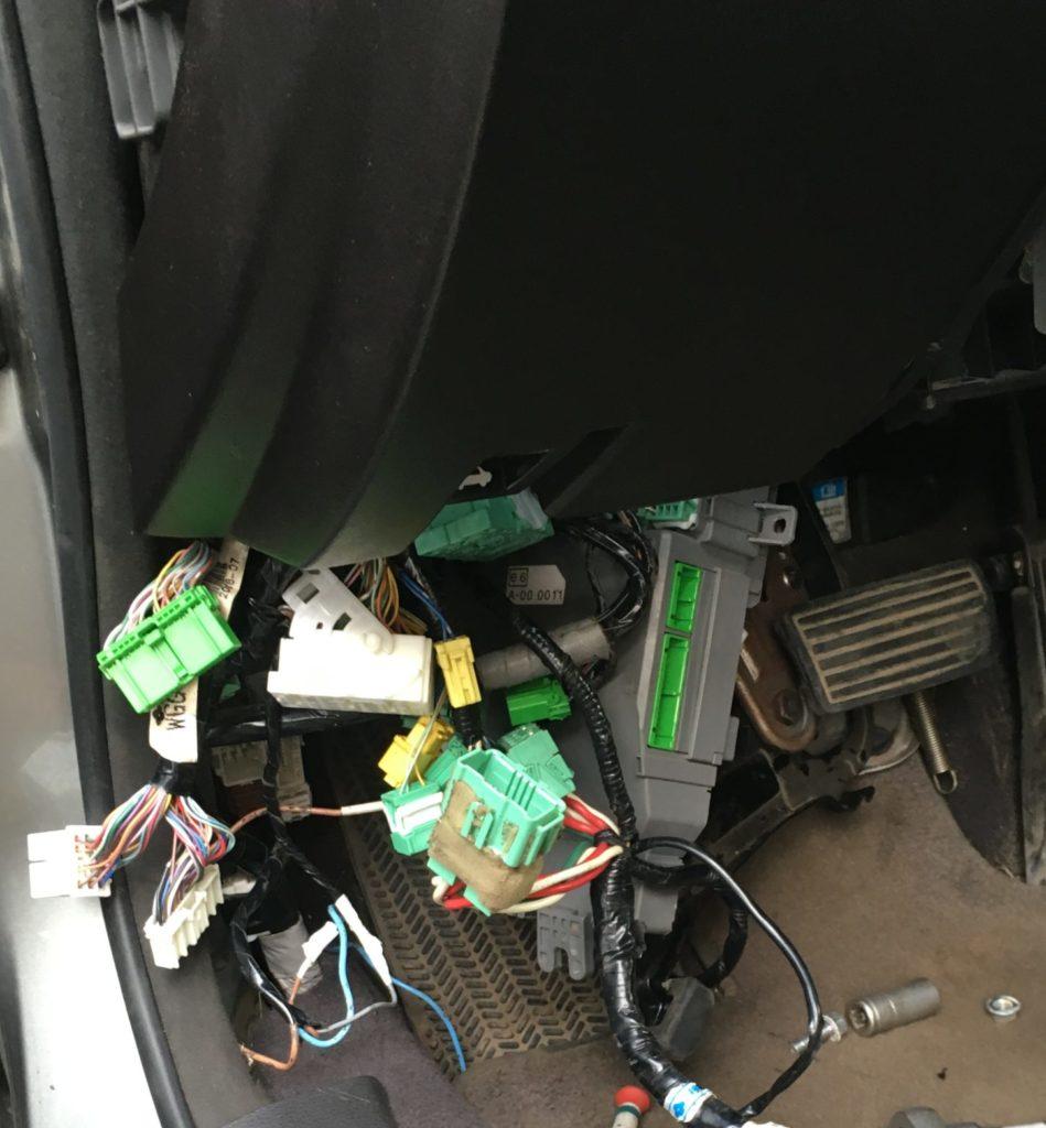 Подключение штатного автозапуска Honda RS-06jp